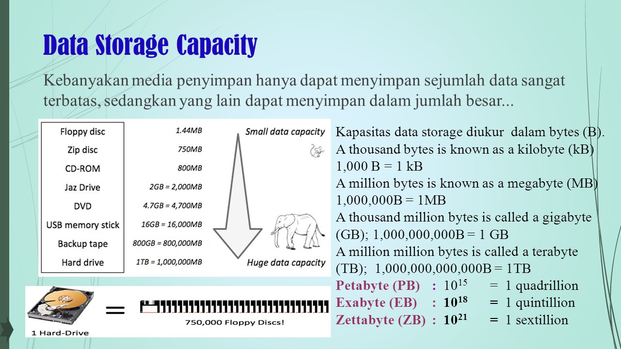 Data Storage Capacity