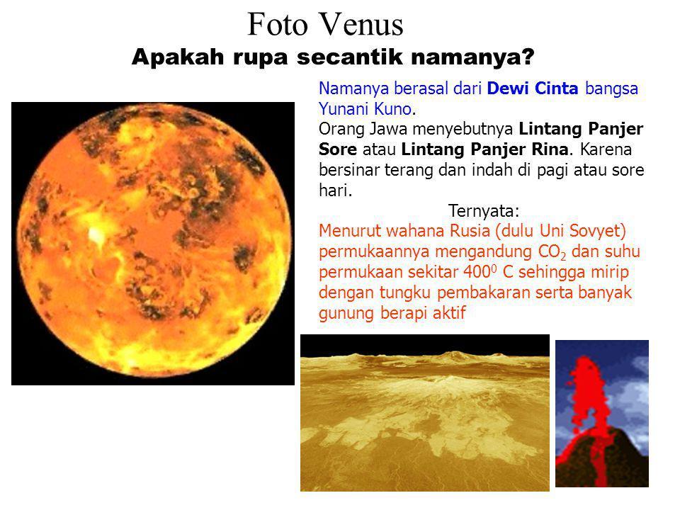 Foto Venus Apakah rupa secantik namanya