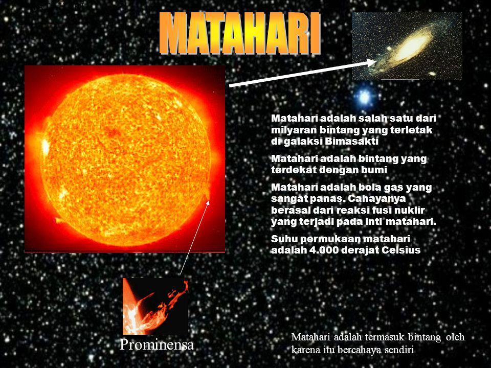 MATAHARI Prominensa MATAHARI