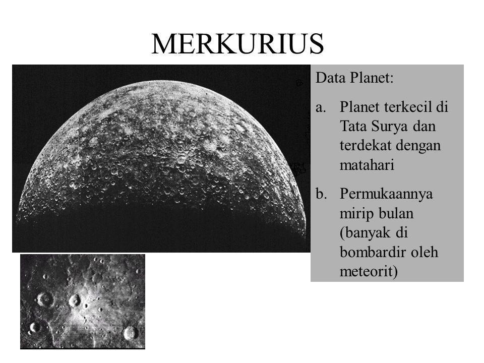 MERKURIUS Data Planet: