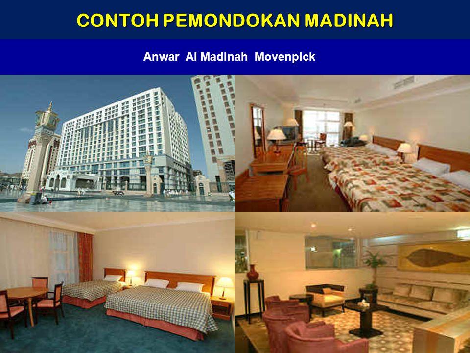 CONTOH PEMONDOKAN MADINAH