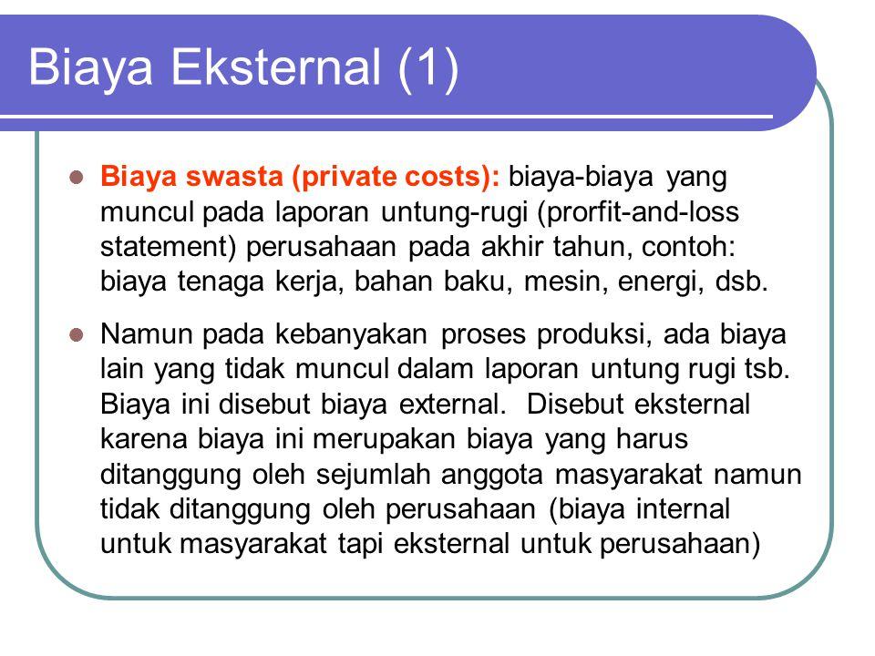 Biaya Eksternal (1)