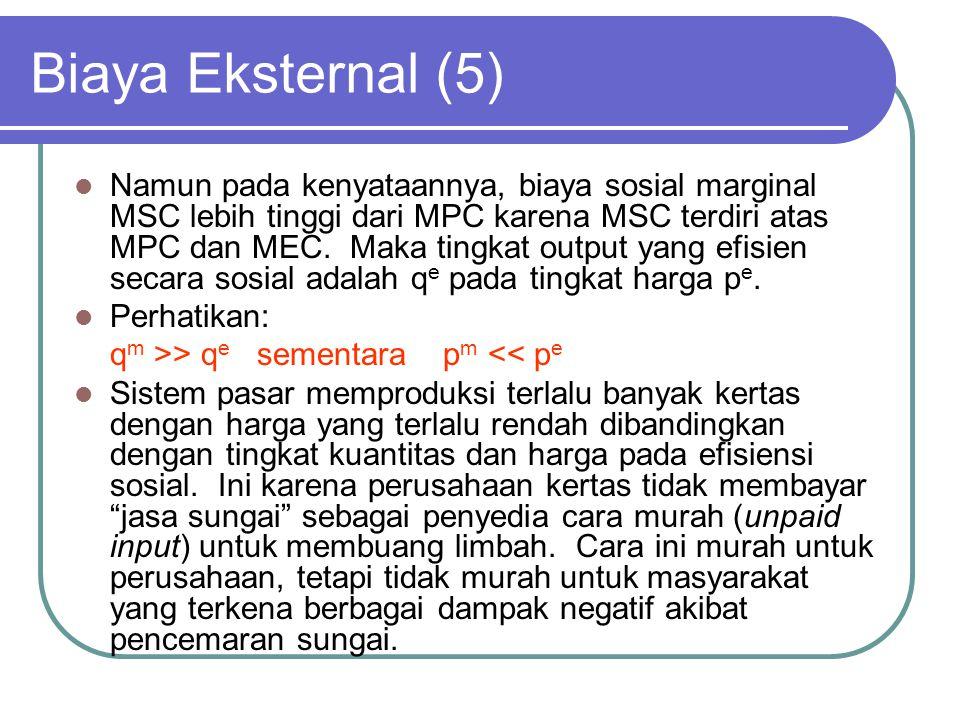 Biaya Eksternal (5)