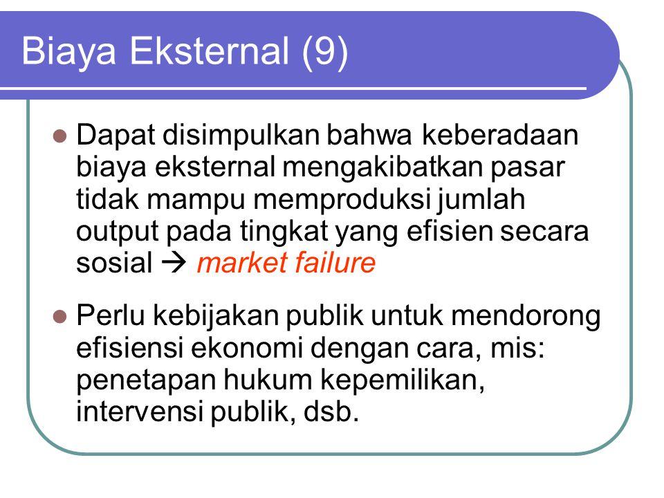 Biaya Eksternal (9)