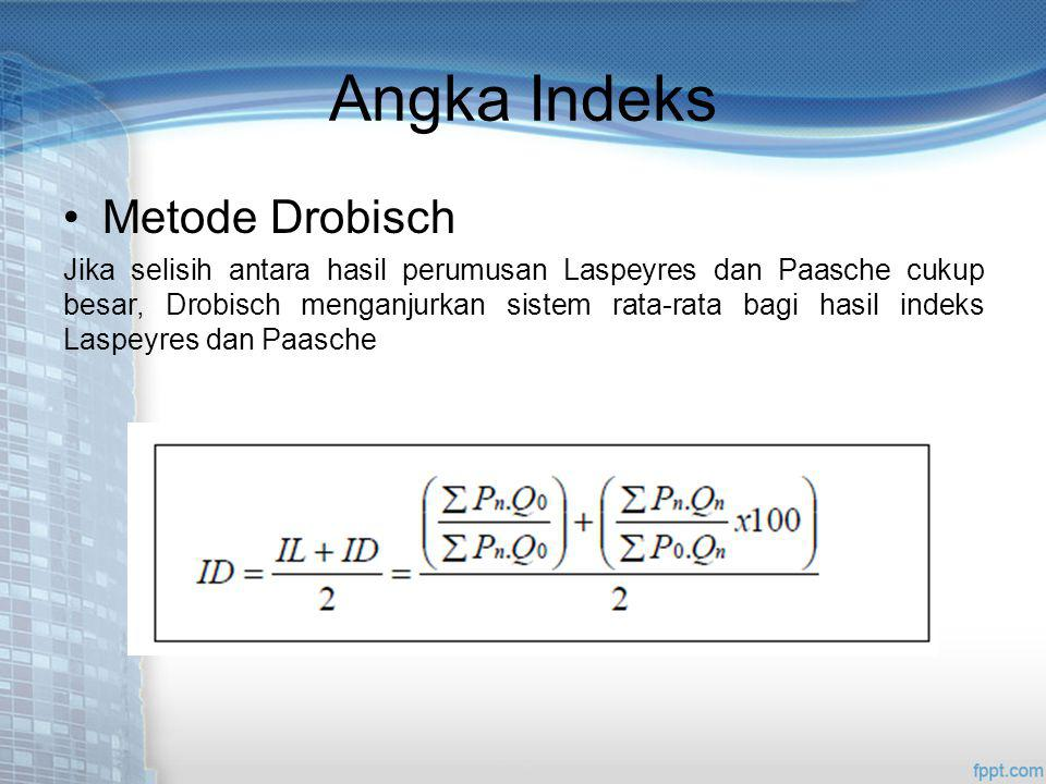 Angka Indeks Metode Drobisch