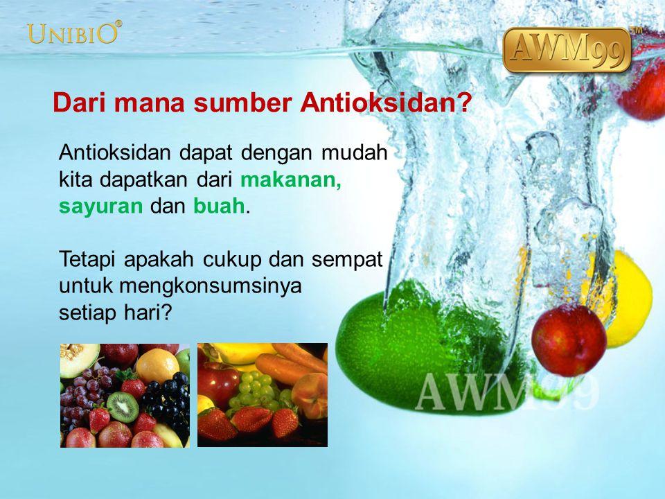 Dari mana sumber Antioksidan