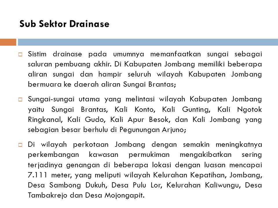 Sub Sektor Drainase