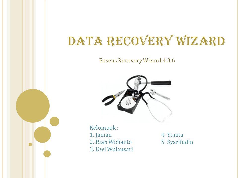 Easeus Recovery Wizard 4.3.6