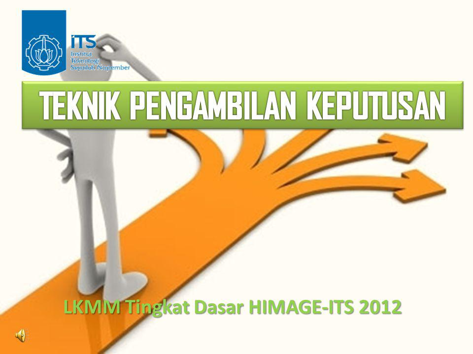 LKMM Tingkat Dasar HIMAGE-ITS 2012