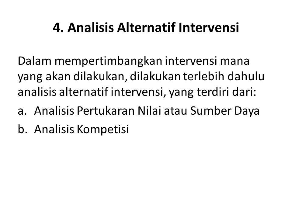 4. Analisis Alternatif Intervensi