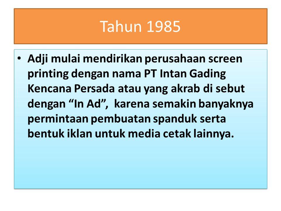 Tahun 1985