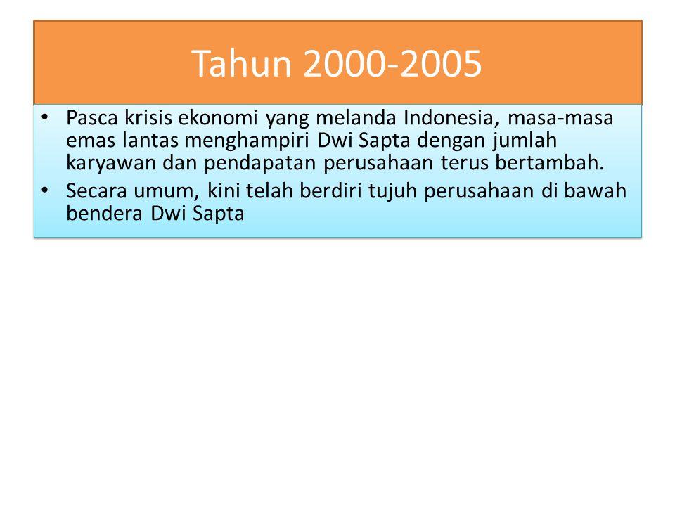 Tahun 2000-2005