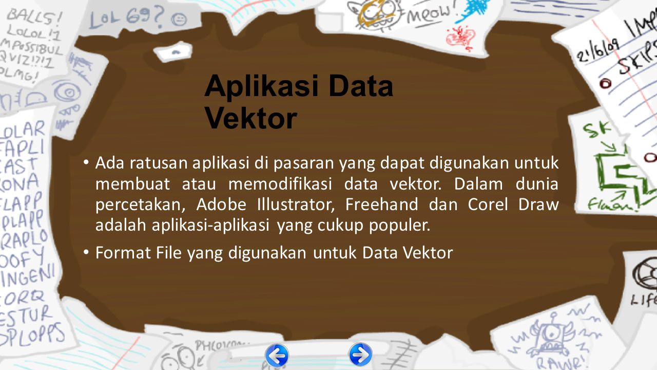 Aplikasi Data Vektor