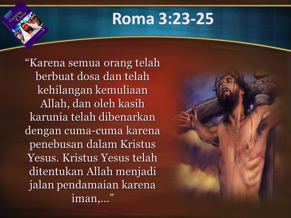 Roma 3:23-25