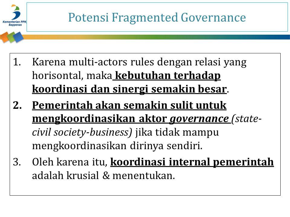 Potensi Fragmented Governance
