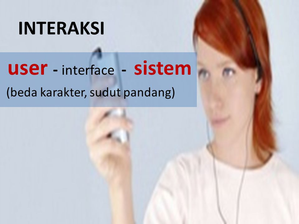 user - interface - sistem