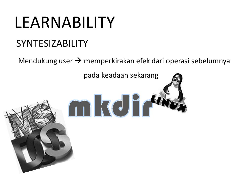 mkdir LEARNABILITY SYNTESIZABILITY