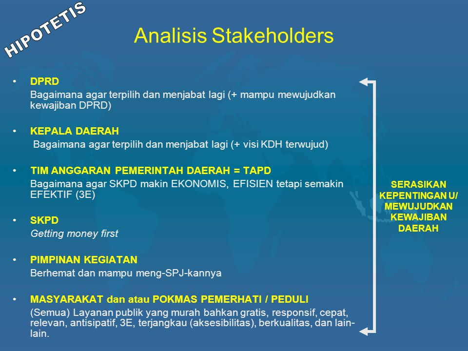 Analisis Stakeholders