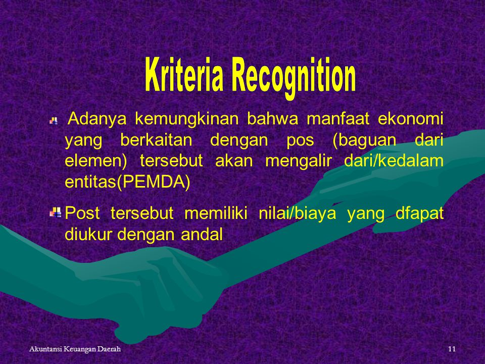 Kriteria Recognition