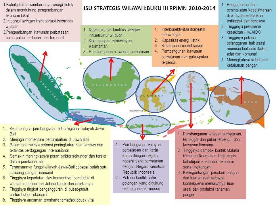 ISU STRATEGIS WILAYAH:BUKU III RPJMN 2010-2014