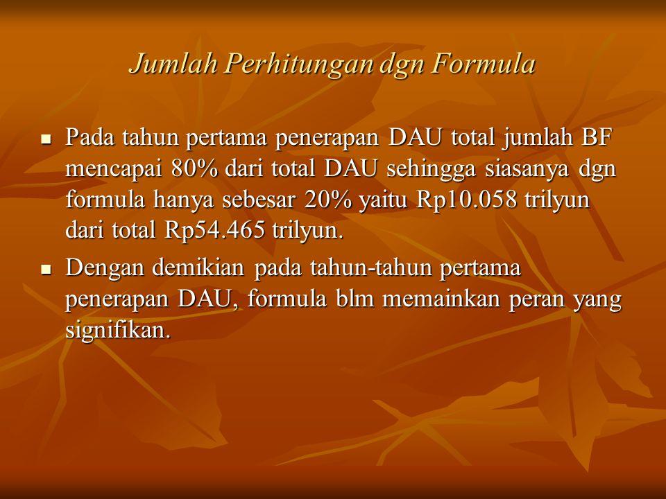 Jumlah Perhitungan dgn Formula