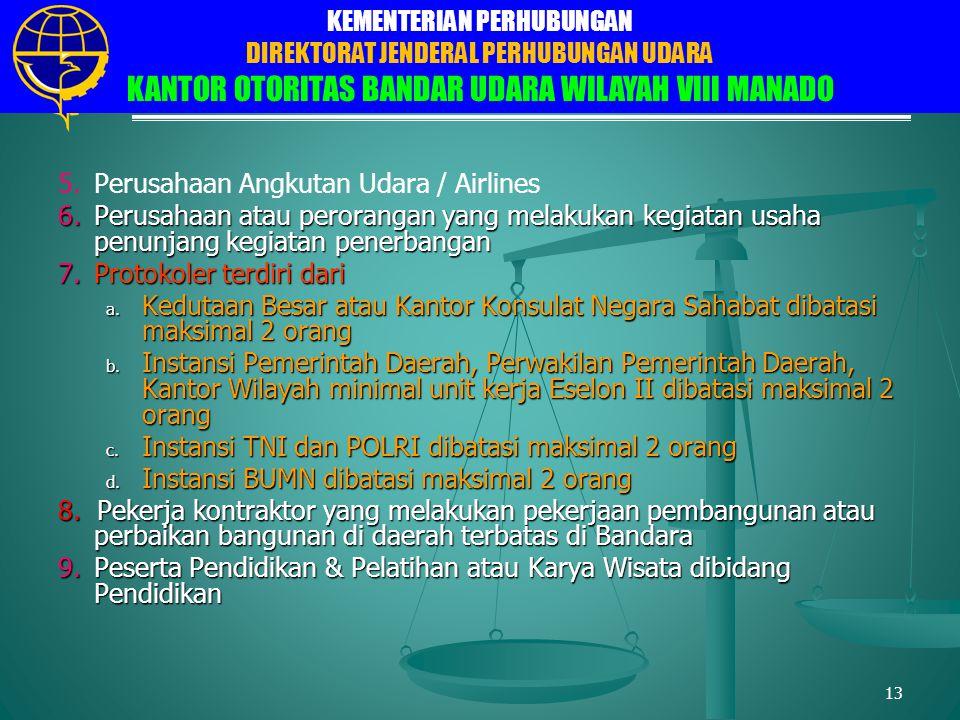 Perusahaan Angkutan Udara / Airlines
