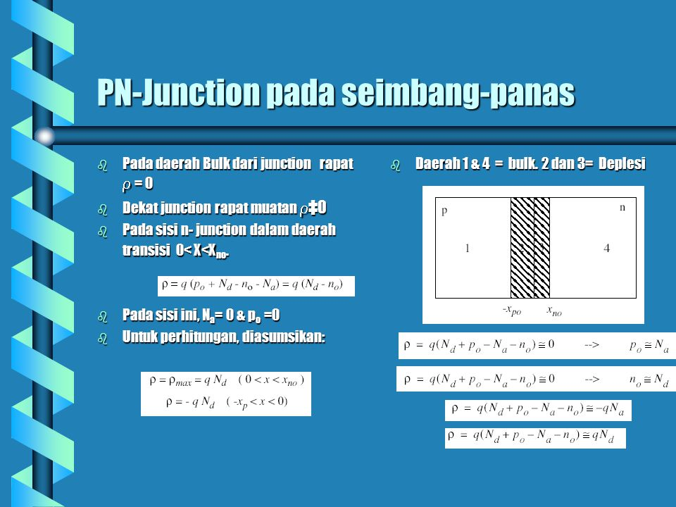 PN-Junction pada seimbang-panas