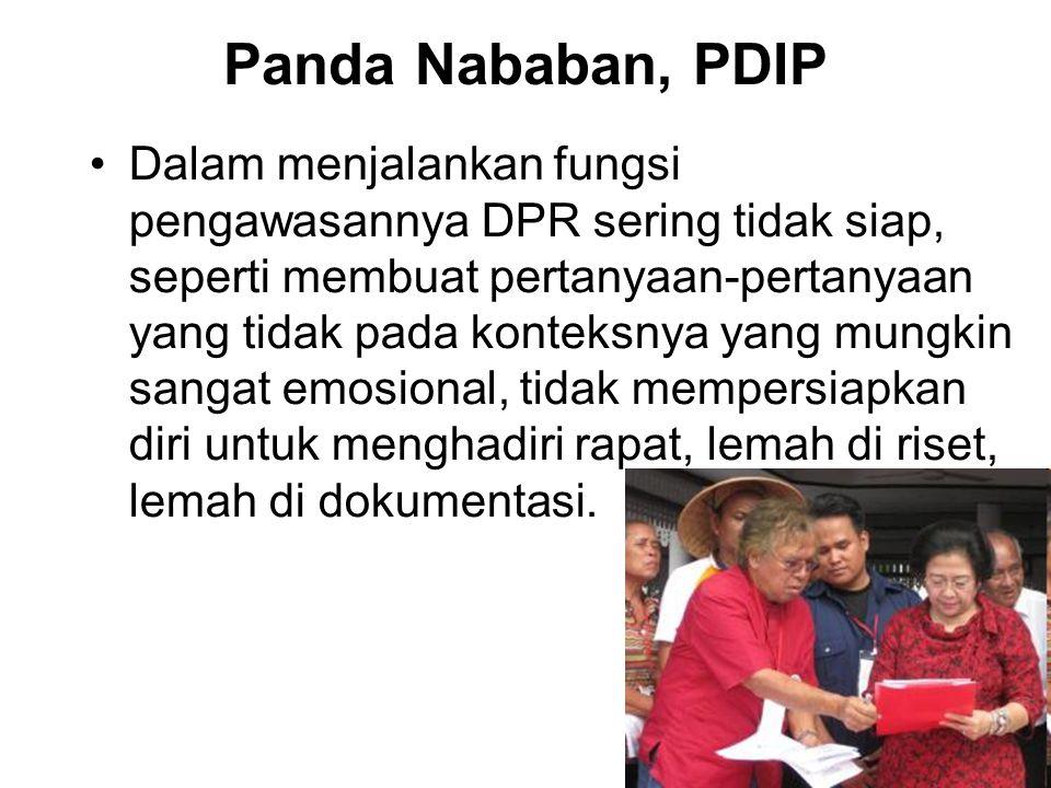 Panda Nababan, PDIP