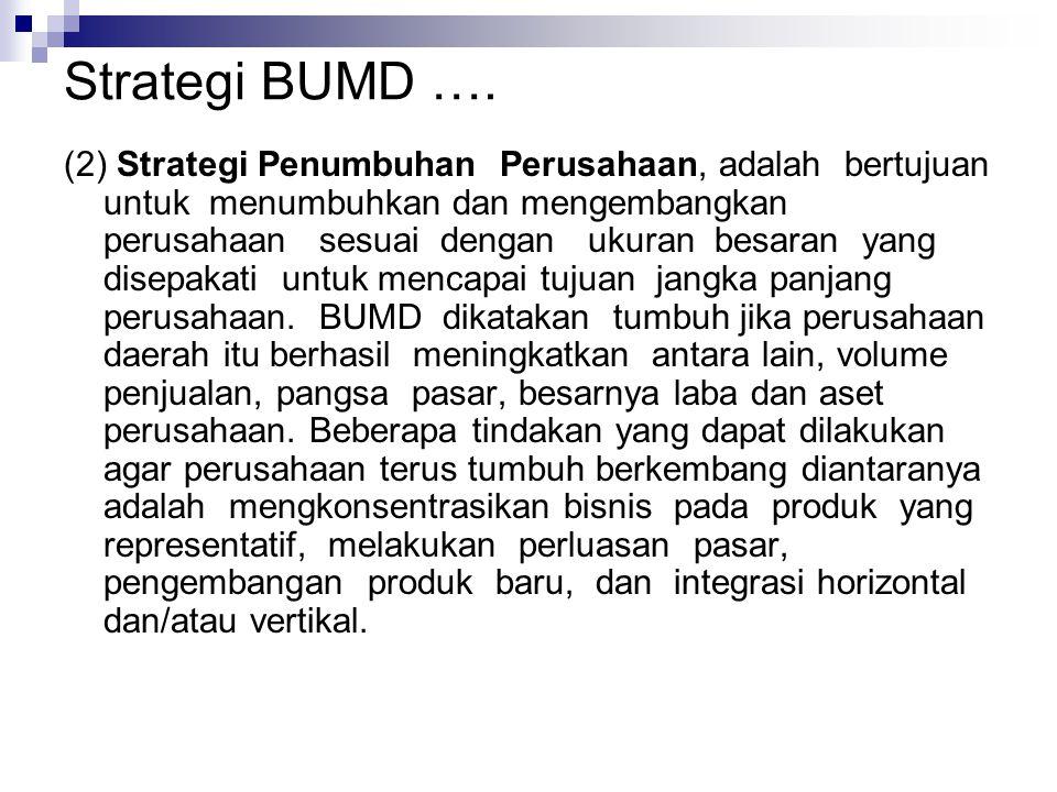 Strategi BUMD ….
