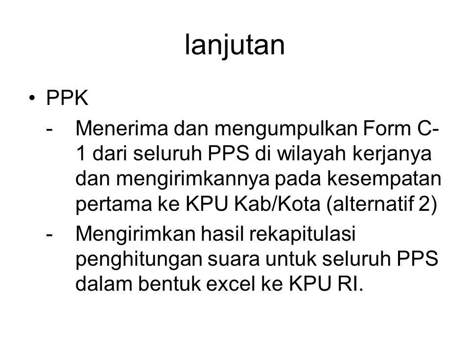 lanjutan PPK.