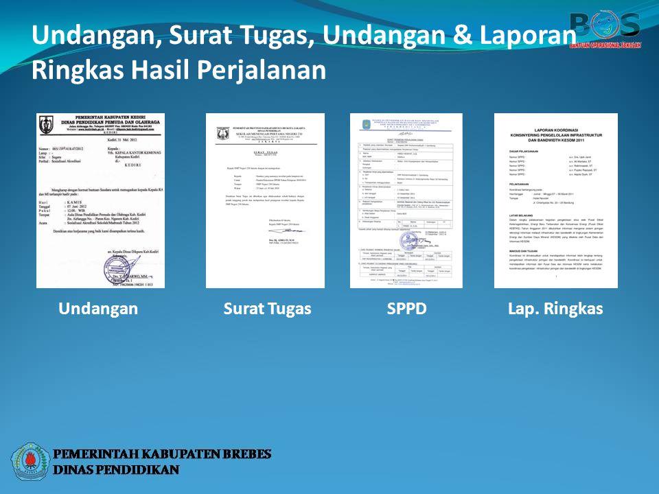 Undangan, Surat Tugas, Undangan & Laporan Ringkas Hasil Perjalanan