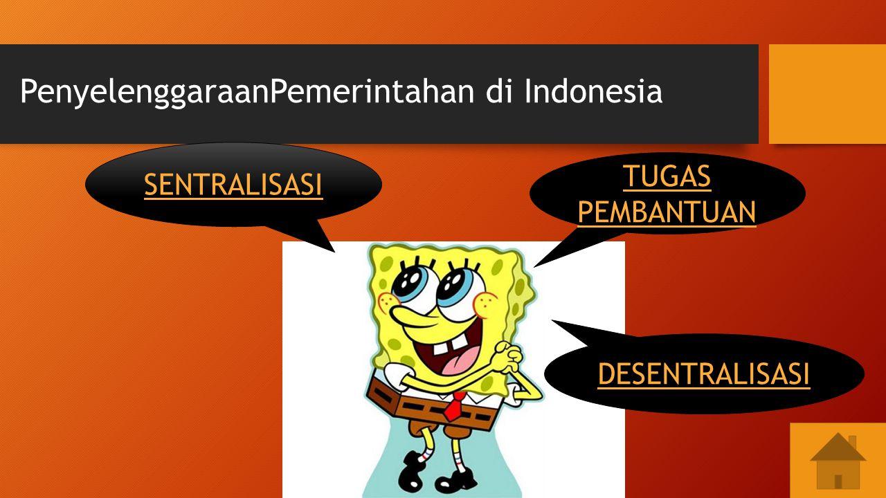 PenyelenggaraanPemerintahan di Indonesia