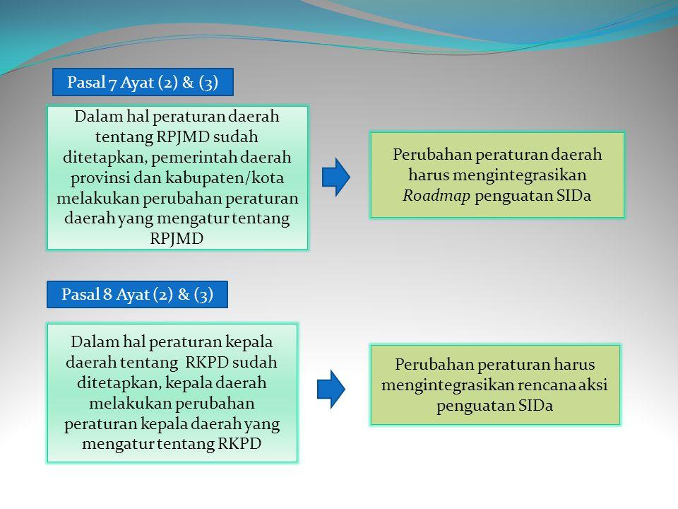 Perubahan peraturan harus mengintegrasikan rencana aksi penguatan SIDa