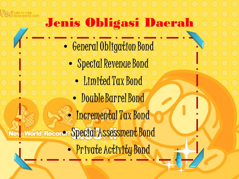 General Obligation Bond Special Assessment Bond