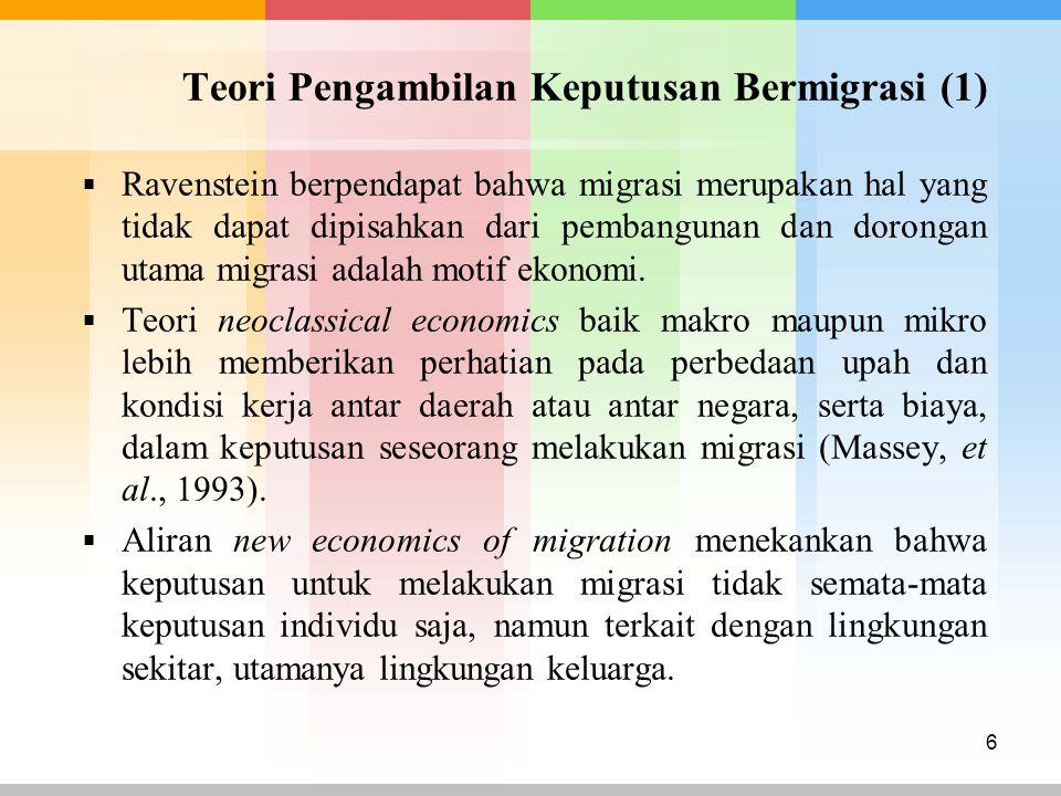 Teori Pengambilan Keputusan Bermigrasi (1)
