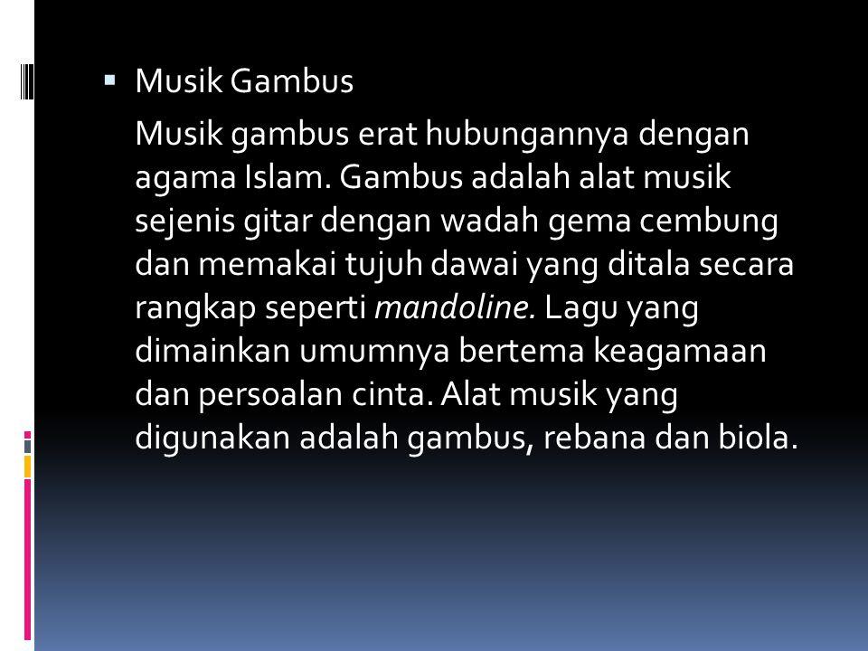 Musik Gambus