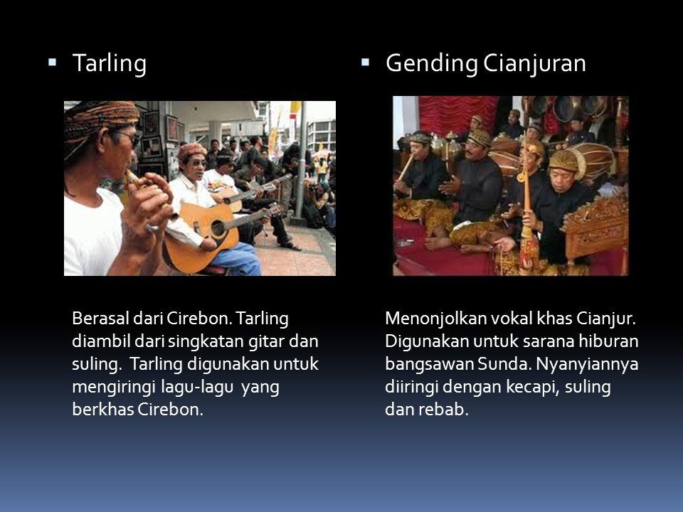 Tarling Gending Cianjuran