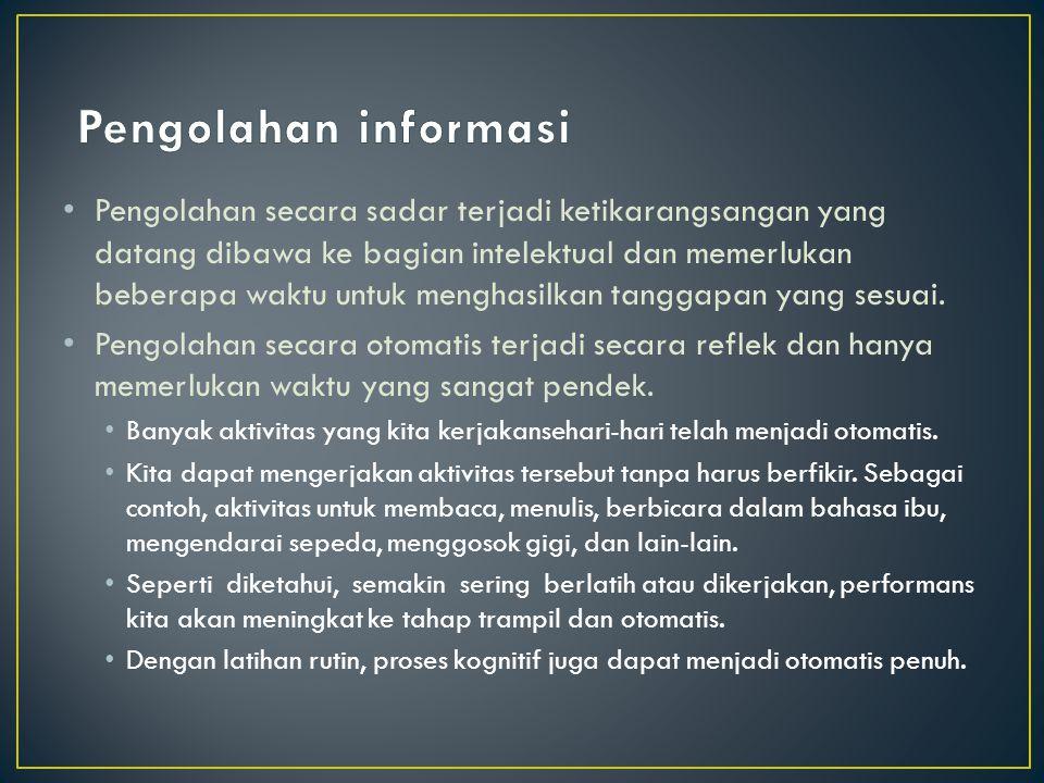 Pengolahan informasi