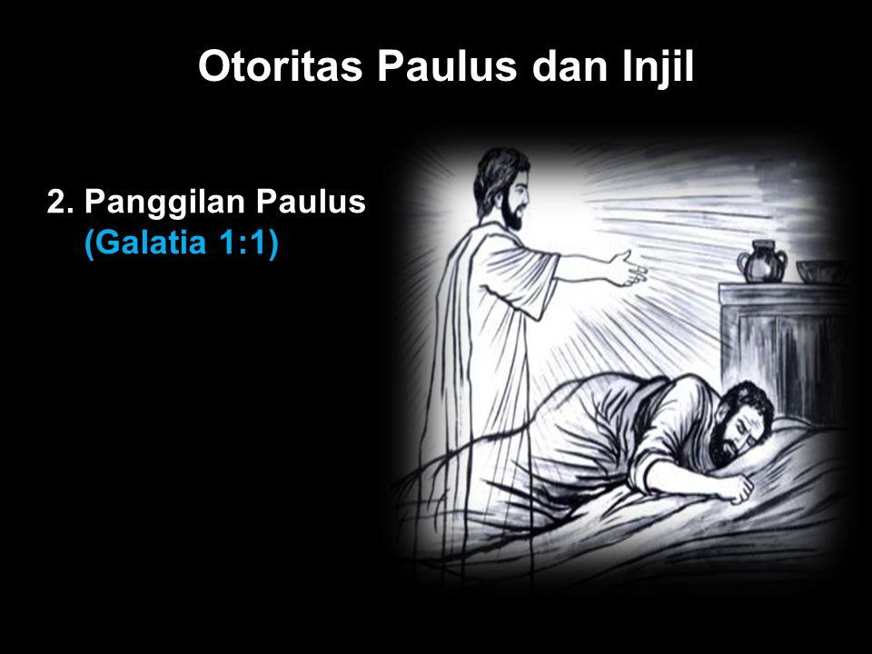 Otoritas Paulus dan Injil