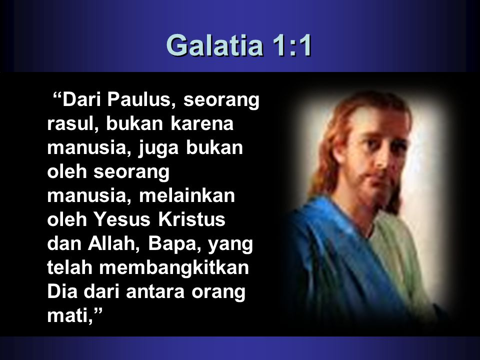 Galatia 1:1