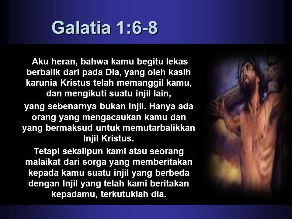 Galatia 1:6-8