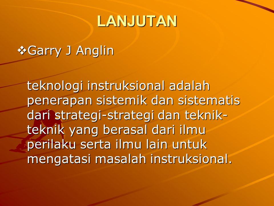 LANJUTAN Garry J Anglin