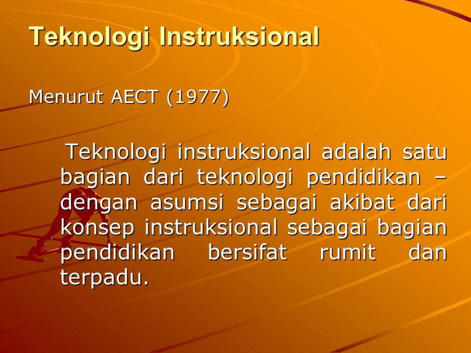 Teknologi Instruksional