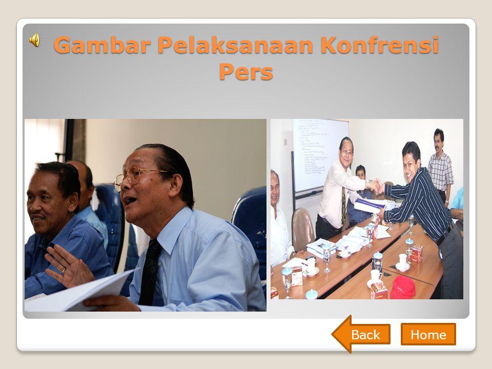 Gambar Pelaksanaan Konfrensi Pers