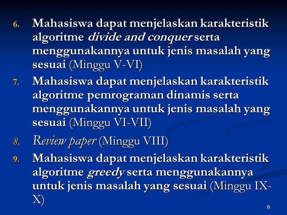 Review paper (Minggu VIII)