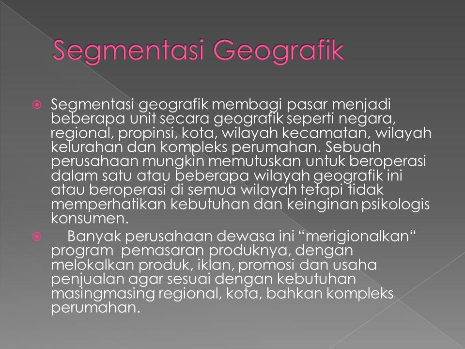 Segmentasi Geografik