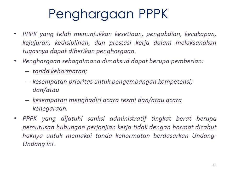 Penghargaan PPPK
