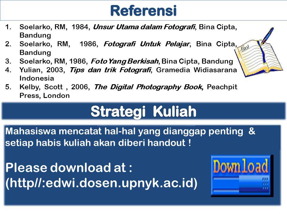 Referensi Strategi Kuliah Please download at :