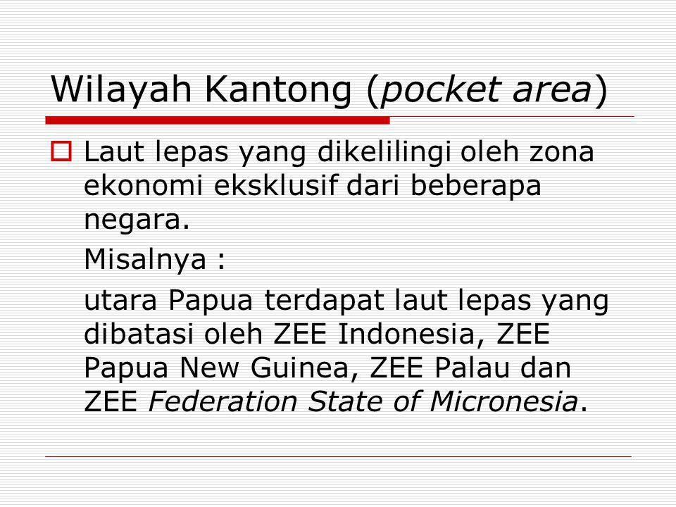 Wilayah Kantong (pocket area)