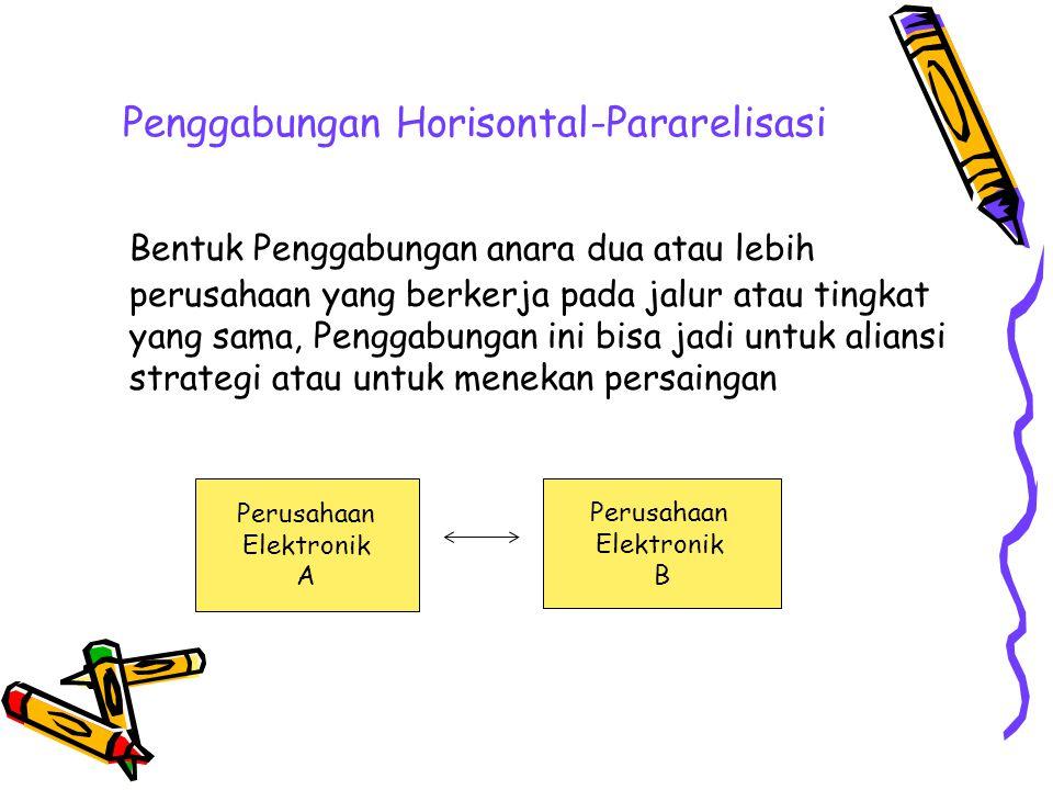 Penggabungan Horisontal-Pararelisasi